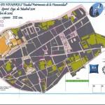 Mapa orientación Alcalá de Henares