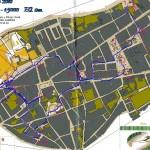 Mapa de orientación de Alcala de Henares