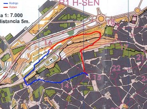 Mapa orientación Toledo