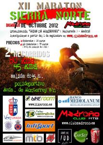 Cartel Maratón Sierra Norte