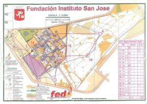 Mapa instituto San Jose