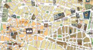 Plano de la zona centro de Madrid (Es por Madrid)