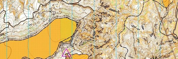 Mapa del monte del viso